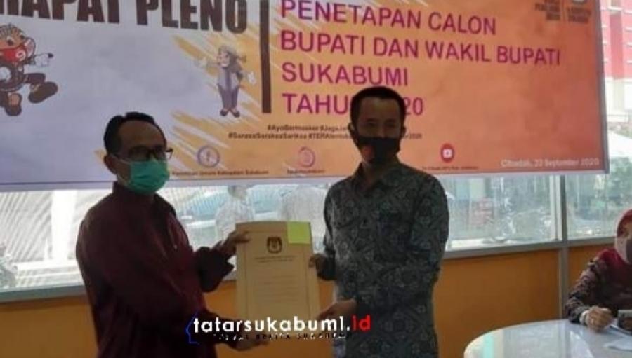 Sah! 3 Pasangan Calon Bupati dan Wakil Bupati Sukabumi Siap Bertarung di Pilkada