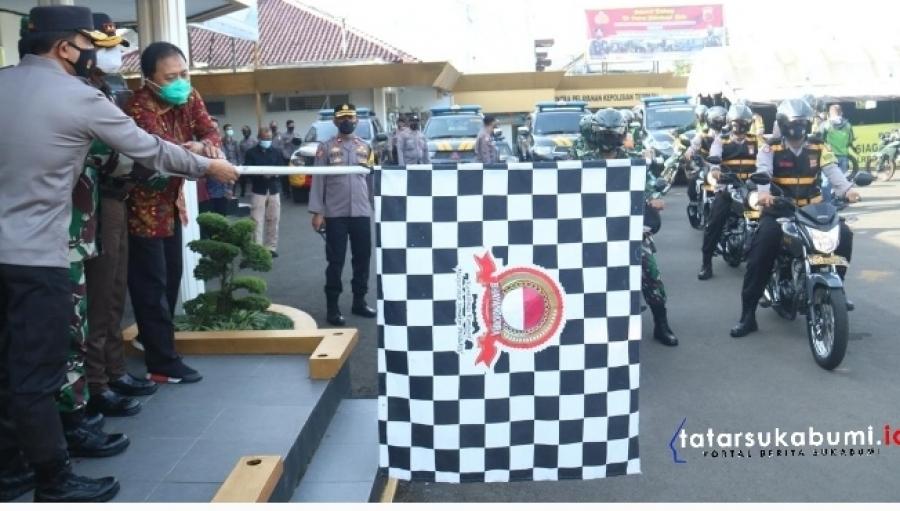 Forkopimda Jabar Distribusikan 2400 Paket Bantuan Kepada Masyarakat Sukabumi