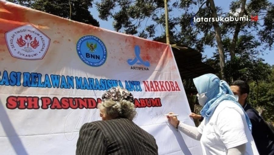 BNNK Sukabumi Bentuk Kampus Bersinar STH Pasundan