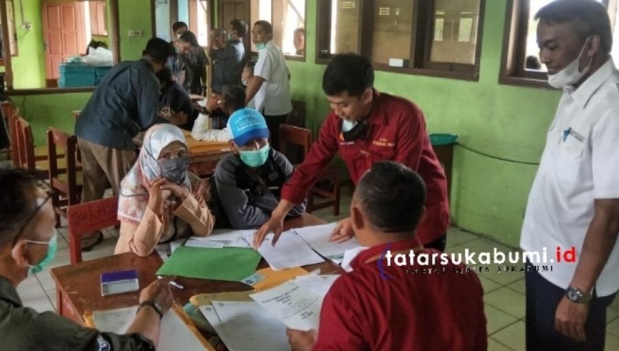 Pembayaran Ganti Rugi Lahan Peruntukan Tol Bocimi Kecamatan Caringin dan Cicantayan