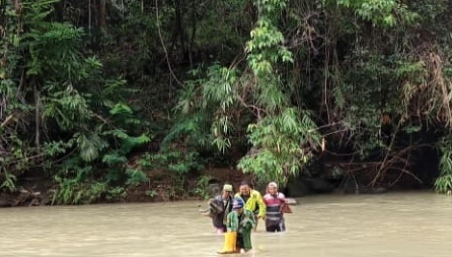 Jenazah Korban Tenggelam di Cidolog Sukabumi Berhasil Ditemukan