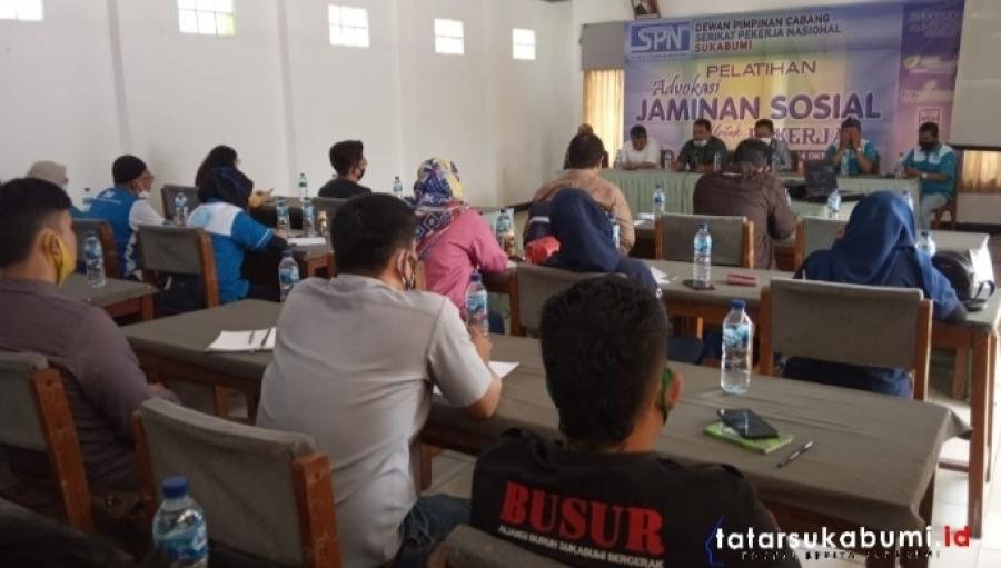 Edukasi dan Advokasi Jaminan Sosial Kesehatan Bagi Buruh Sukabumi