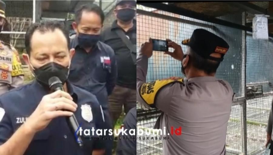 Bareskrim Polri Bongkar Kasus Penangkaran Ratusan Satwa Liar yang Dilindungi di Sukabumi Jawa Barat