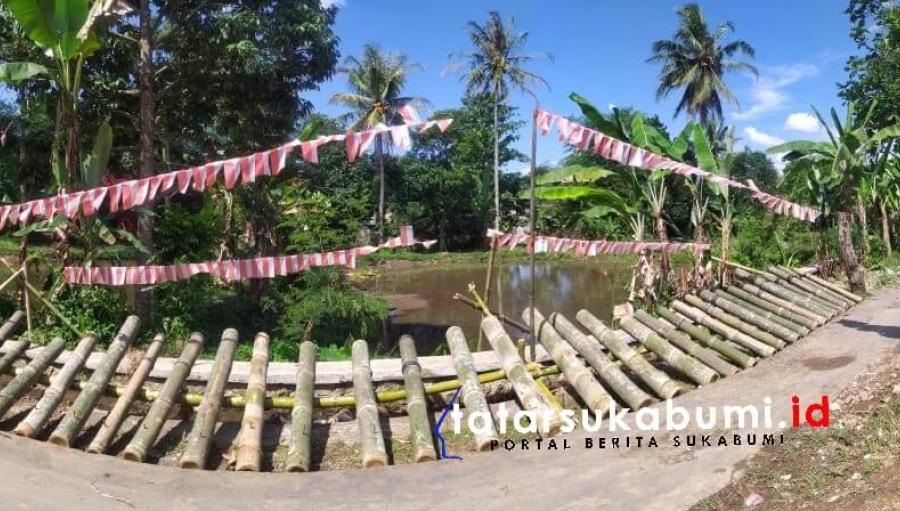 Warga Cikujang Sukabumi Hidupkan Kembali Tradisi Bedil Lodong Rayakan Kemenangan
