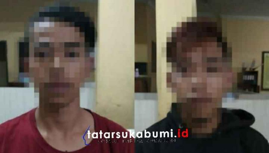 2 Pemuda Bawa Ganja Tengah Malam Dibekuk Polisi di Cicurug
