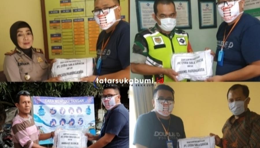 Perusahaan Garmen di Sukabumi Ciptakan Masker Khusus Covid-19 dan Dibagikan Gratis Kepada Masyarakat