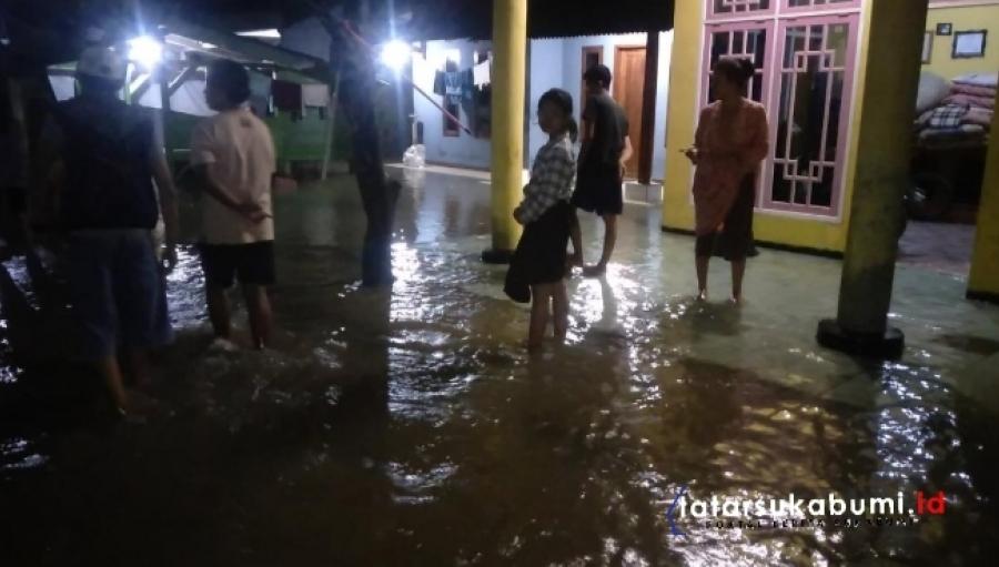 15 Rumah di Simpenan Sukabumi Terendam Banjir