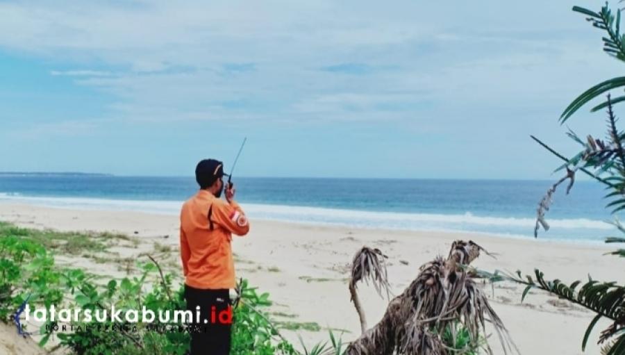 5 Wisatawa Terbawa Arus Saat Berenang di Pantai Batu Bentang Palabuhanratu