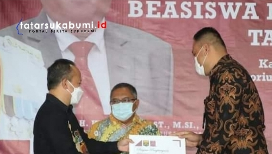 150 Remaja 47 Kecamatan Lanjutkan Kuliah Program Beasiswa Bupati Sukabumi 2021, Marwan Hamami Janjikan Beasiswa Kedokteran
