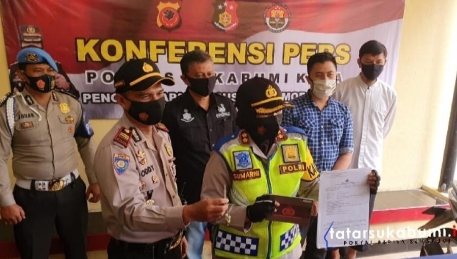 Ungkap Kasus Curanmor, Motor yang Hilang Dua Kali Itu Berhasil Kembali Ditemukan Polres Sukabumi Kota
