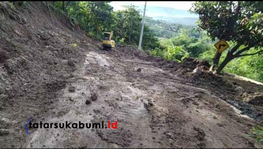 Jalur Loji Palangpang Masih Tertutup Longsor 300 Meter, Mau ke Geopark Ciletuh Gunakan Rute Aman Ini