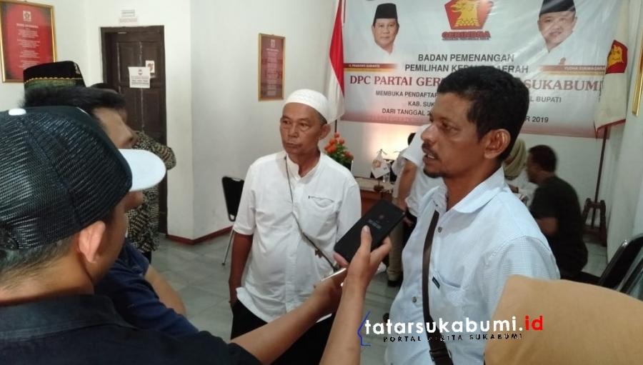 Pinang Partai Gerindra Bakal Calon Wakil Bupati Sukabumi 2020-2025 Siap Pro Rakyat