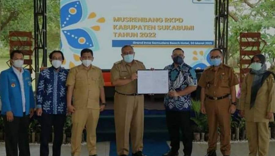 Musrembang Penyusunan RKPD Kabupaten Sukabumi 2022