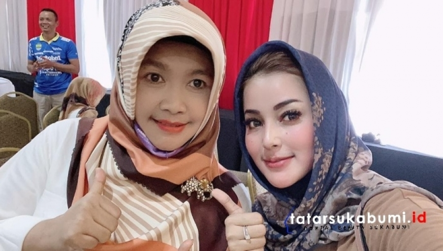 Adjo Sardjono Sukses Gaet Kalangan Emak - emak Sukabumi di Pilkada 2020
