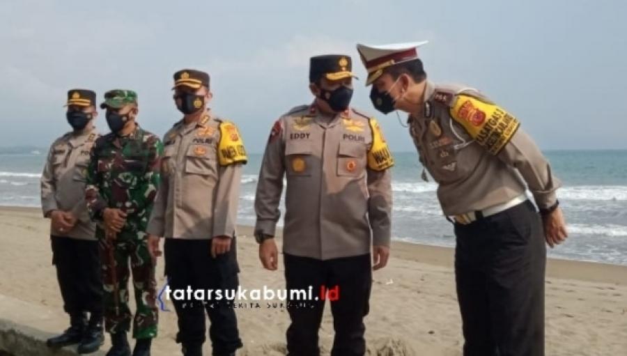 Kunjungan Wakapolda Jabar di Sukabumi, Brigjen Eddy : 33 ribu Kendaraan di Putar Balik 75 Travel Gelap Disita
