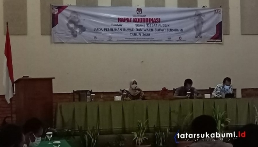 24 November Adu Visi Misi Debat Publik di Pilkada Sukabumi 2020