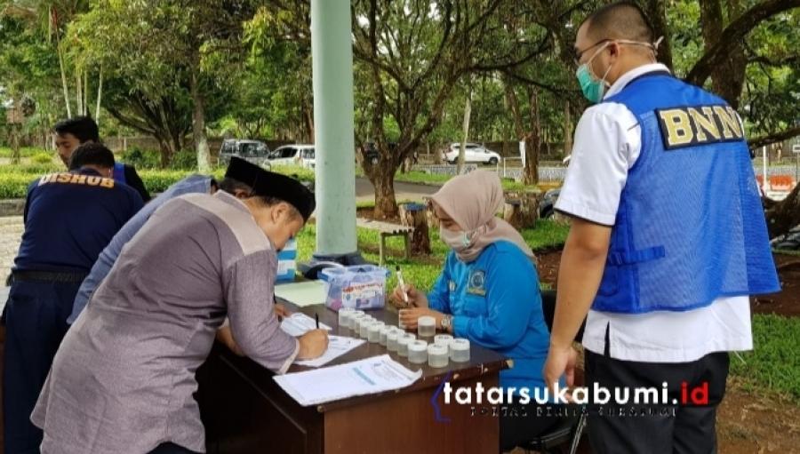 BNNK Sukabumi Test Urine Seluruh Petugas Dishub