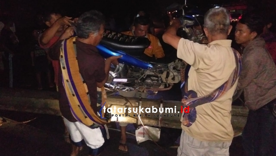 Situasi Terkini Evakuasi Tiang Listrik Tumbang di Jalan Palabuhanratu - Sukabumi