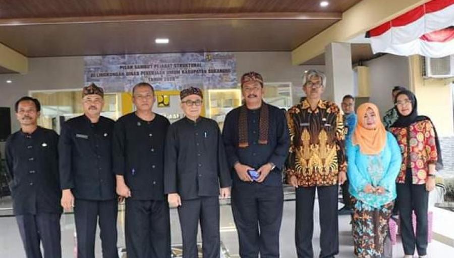 Rotasi Mutasi Pejabat Dinas PU Sukabumi