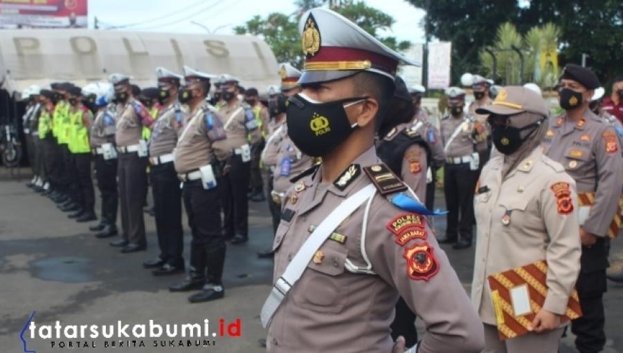 Polres Sukabumi Kota Gelar Operasi Keselamatan Lodaya 2021 Selama 14 Hari