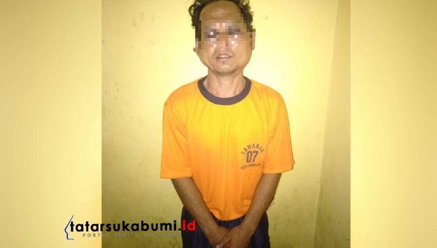 Pelaku Pencabulan Anak SD di Ringkus Anggota Polsek Parungkuda Sukabumi