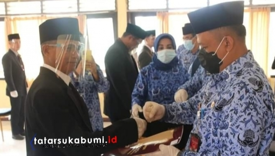 20 PNS Sukabumi Raih Anugerah Satya Lencana Karya Satya dari Presiden