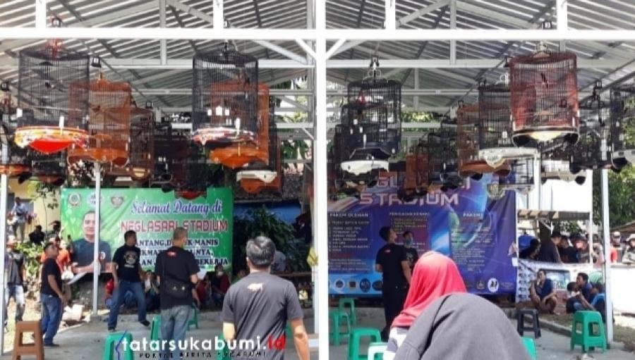 Kontes Kicau Burung Paling Bergengsi di Sukabumi Digelar di Neglasari Stadium Cibadak