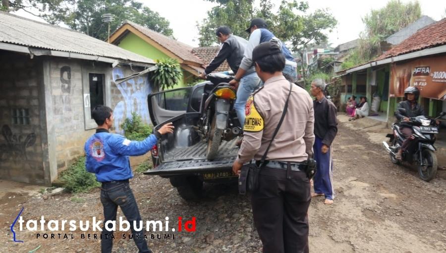 Pencuri Apes di Sukabumi, Niat Hati Curi Ayam Apa Daya Motor Tertinggal