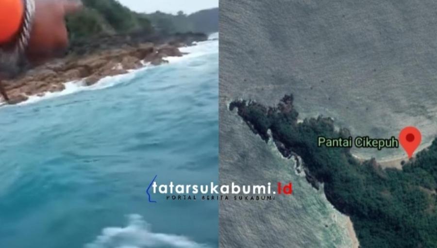 Seorang Angler Hilang Saat Mancing di Sodong Parat Pantai Cikepuh Kawasan Geopark Ciletuh Sukabumi