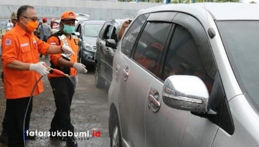 Protokol Sterilisasi Pendatang dari Zona Merah yang Masuk ke Sukabumi