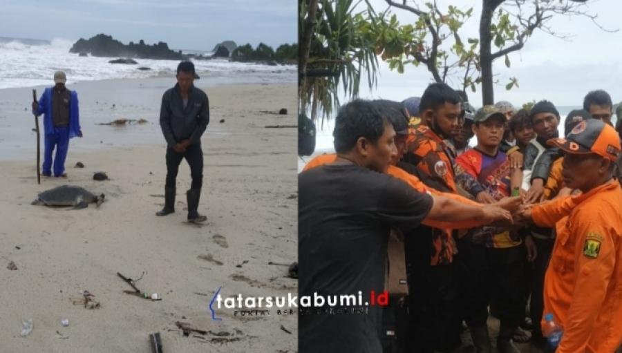 Pemancing Tenggelam di Perairan Laut Selatan Sukabumi