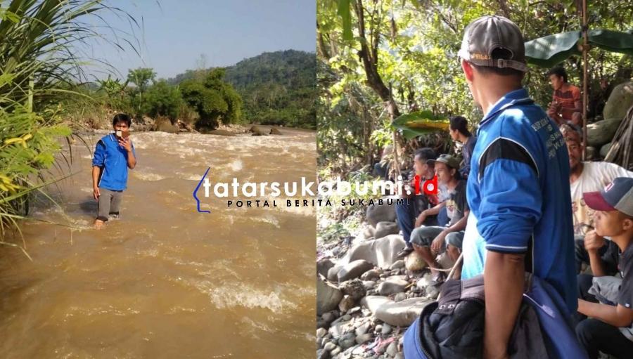 Korban Tenggelam di Sungai Cimandiri Masih Belum Ditemukan