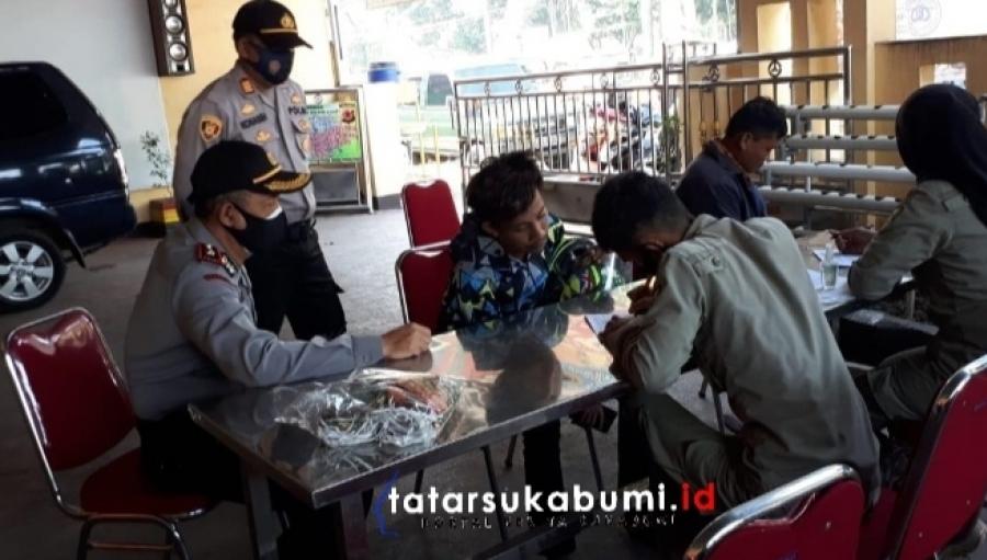 Ada Sanksi Bagi Warga yang Terjaring Operasi Yustisi Penegakan Protokol Kesehatan di Sukabumi