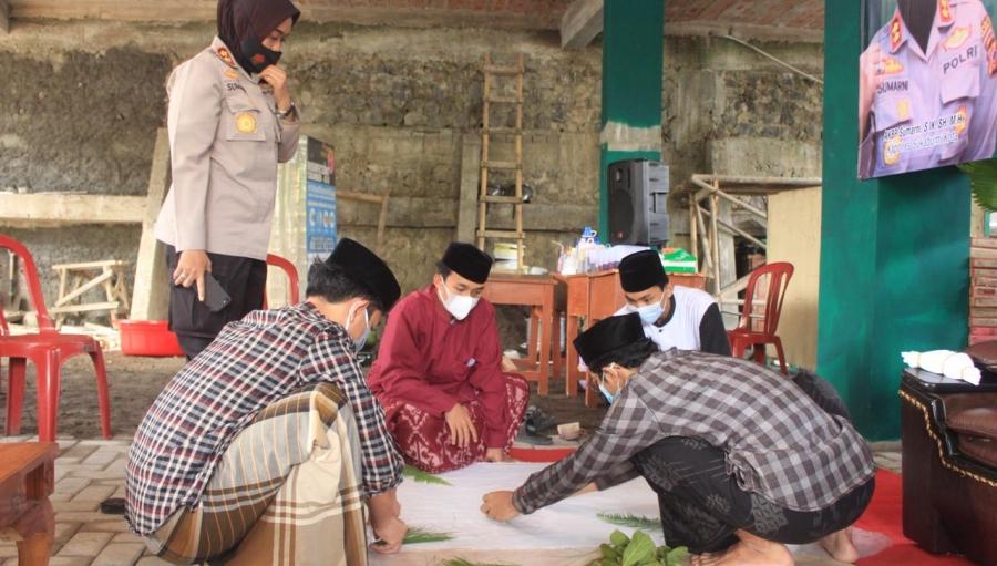 Polres Sukabumi Kota Beri Pelatihan Keahlian Santri di Bulan Ramadan