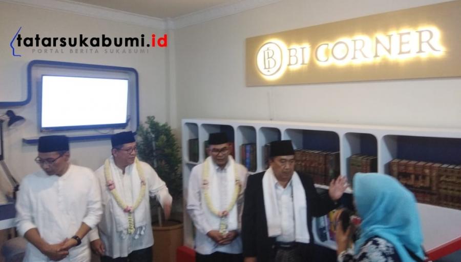 Al-Masthuriyah Sukabumi Ponpes Pertama di Jabar Miliki BI-Corner