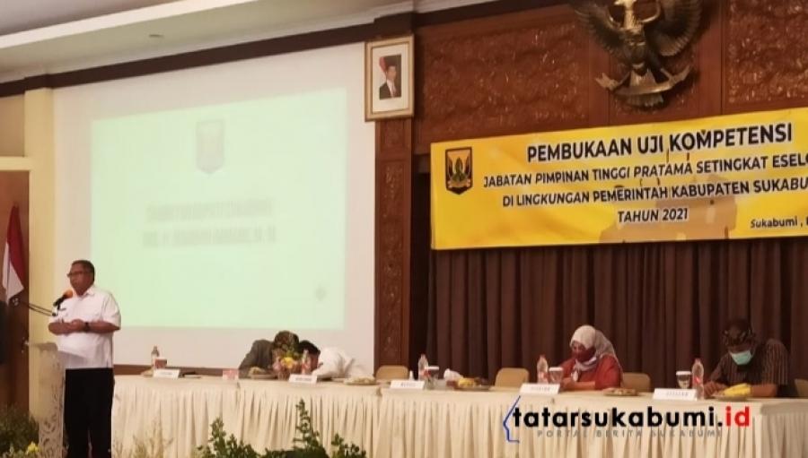 Jelang Reposisi Pejabat Pemkab Sukabumi, Marwan : Pejabat Tidak Mau Berubah Pindahkan