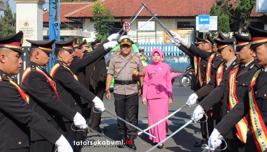 Rotasi Jabatan Polresta Sukabumi, Inilah Pejabat dan Kapolsek Baru di Wilayah Hukum Polres Sukabumi Kota