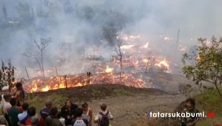 6 Fakta Kebakaran Satu Kampung Adat di Cikakak Sukabumi