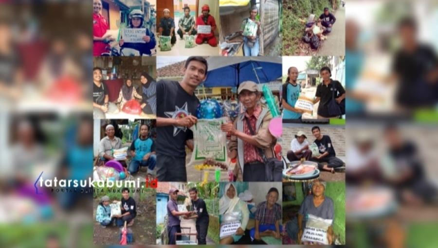 Empati Dampak Sosial Covid-19, RRP Sukabumi Bagi-bagi Beras Untuk Pejuang Keluarga