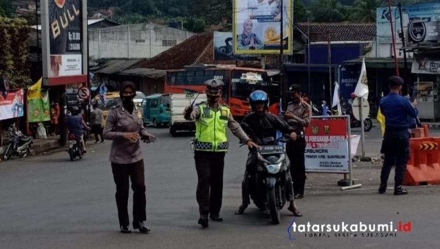 Antisipasi Mobilitas Massa Aksi ke Jakarta, Polisi Lakukan 3 Titik Penyekatan Sepanjang Jalan Sukabumi - Bogor