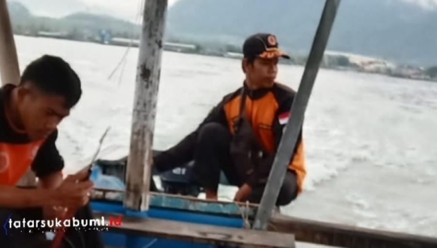 Hari ke-5 Pencarian Korban Tenggelam di Palabuhanratu Sukabumi
