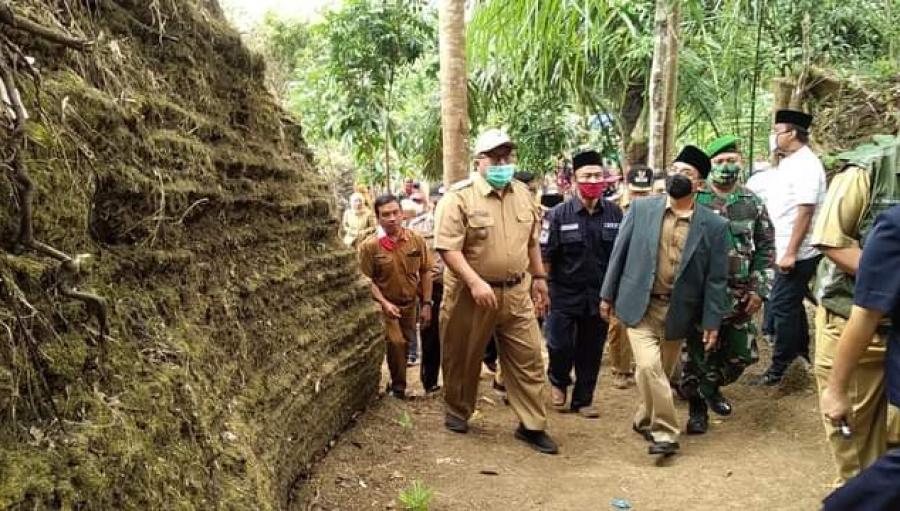 Labirin Batuan Purba Batu Bubut Sukabumi Resmi Dibuka Bagi Wisatawan