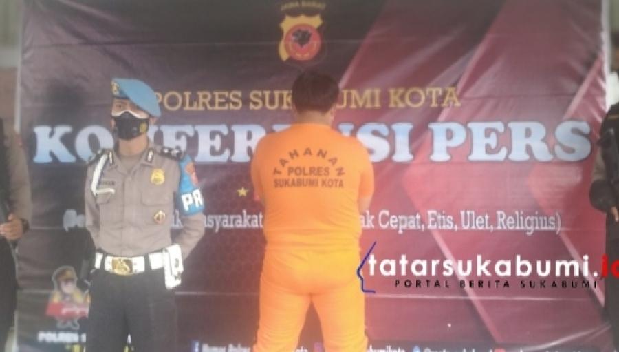 Kurang Dari 5 Jam Satreskrim Polres Sukabumi Kota Bekuk Pelaku Pembobol Rumah di Genting Puri Baros