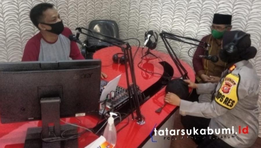 Radio Pendidikan dan Dakwah Yasti Sukabumi Diresmikan AKBP Sumarni