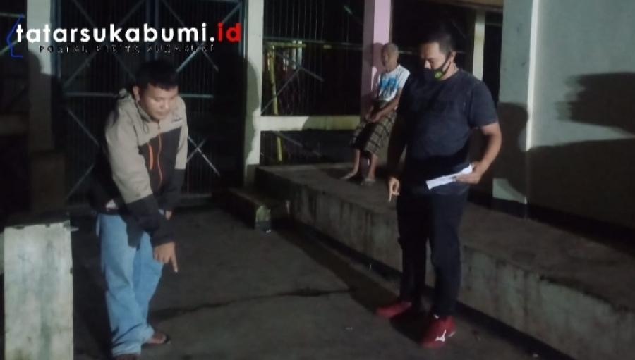 Motor Guru Digondol Maling Saat Parkir Depan GOR Mts Ikhwatul Iman Simpenan Sukabumi