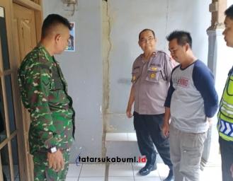 Tanah Retak Ancam 18 Kepala Keluarga di Sukasirna Cibadak-Sukabumi