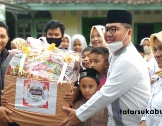 Partai Gerindra dan Pira Kota Sukabumi Santuni Ratusan Yatim Piatu dan Penghafal Alquran
