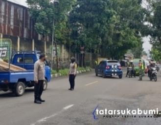 Ada Operasi Yustisi TNI Polri di Akses Masuk Kota Sukabumi
