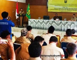 Suntikan Anggaran Bantuan Keuangan Khusus Bagi 152 Desa di Sukabumi, DPMD Ingatkan Kades Jangan Ganti Aparatur Desa
