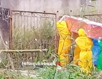 PDP di Sukabumi Meninggal Dunia, Harun: Prosesi Pemakaman Menggunakan Protokol Kesehatan WHO